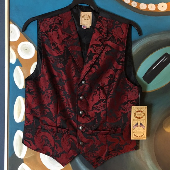 Wah Maker USA Other - Scully Oriental Waistcoat